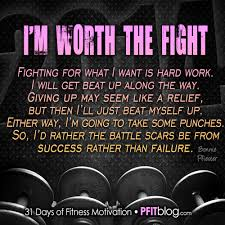 Fight For Your Life Quotes 100 Days of Motivation Fight For Your Life no one else will PfitBlog 34