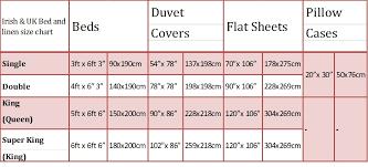 bed linen astounding duvet cover size chart double intended for