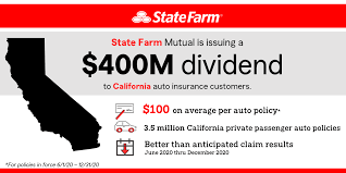 News 360 reviews takes an unbiased approach to our recommendations. State Farm Returning 400 Million Dividend To California Auto Customers