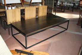 Black Walnut Coffee Table Black Walnut And Steel Coffee Table Custom Sizes Transitional