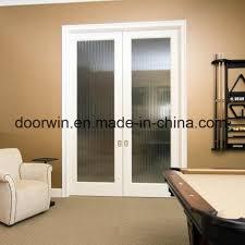 simple fashion home interior doors double glass sliding pocket door secret door