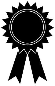 Black And White Award Ribbons Rome Fontanacountryinn Com