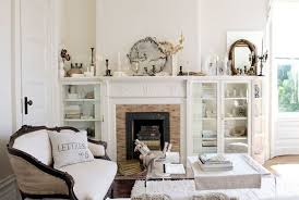 White room white furniture Pink Country Living Magazine 30 White Living Room Decor Ideas For White Living Room Decorating
