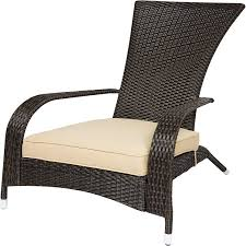 adirondack chairs patio furniture com best choices wicker adirondack chair patio porch deck furniture outdoor all weather proof