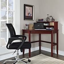 corner decoration furniture. Simply Red Wood Corner Desk With Hutch For Home Furniture Ideas Decoration O