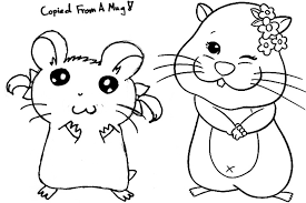 Small Picture Hamster 10 Animals Printable coloring pages
