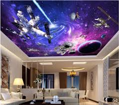 Wdbh Custom D Ceiling Font B Murals Wallpaper Universe Star Space B
