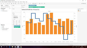 Dual Axis Chart In Tableau