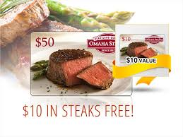omaha steaks 50 gift card email delivery