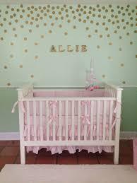Allie\u0027s Birdie Nursery | Mint green nursery, Gold walls and Mint green