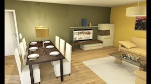 Offene Küche Mit Wohn Esszimmer Cad Im Zeitraffer Bau