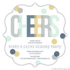 Company Holiday Party Invitation Wording Office Holiday Party Invitation Wording Ideas From Purpletrail