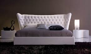 Double bed / traditional / with headboard / upholstered - ANDY