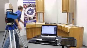 Measuring For Granite Kitchen Countertop Prodim Laser Countertop Demo Youtube