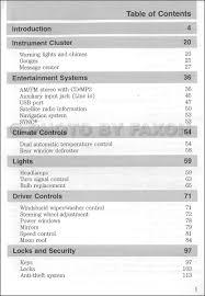 2012 Ford Escape Hybrid Owner's Manual Original