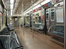 inside subway train. Simple Inside On Inside Subway Train E