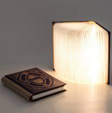 Golden Lipper Lighting Harry Potter Themed Book Light Hogwarts House Colours
