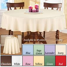 basic 70 inch round tablecloth