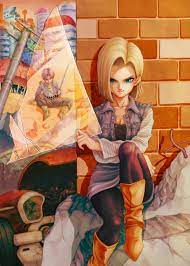 Asus rog phone 3 stock wallpapers. Android 18 Mobile Wallpaper Zerochan Anime Image Board