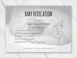 Baby Dedication Certificate With Babyfeet In Blanket On Background