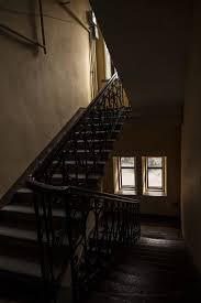 Old House Staircase Design Entrance Old House Ladder Architecture Interior Window