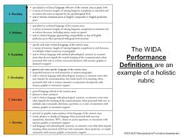 Wida Proficiency Levels Chart Wcsd Ell Department Ppt Video Online Download