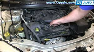 how to install replace ignition coil chrysler sebring l how to install replace ignition coil 2001 06 chrysler sebring 2 7l