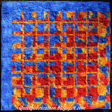 Solar Flare & This another from Ricky Tims' Convergence Quilts, my Book of the Month for  November. Adamdwight.com