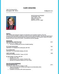 Outstanding Tefl Cv Sample Picture Collection Entry Level Resume