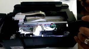 Epson L382 L355 L386 Kağıt Yok Hatası paper no fault - YouTube