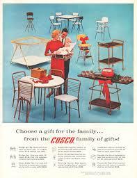 cosco cradle seat 1962 ad