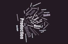 word clouds reveal new students academic interests and aspirations audio design wordcloud