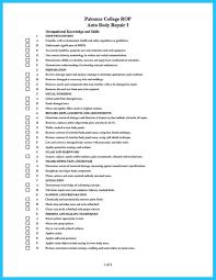 Resume Preparation Format Inspirational Auto Body Technician Resume