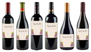Simple Wine Label Designs 6 Free Printable Wine Labels You Can Customize Lovetoknow