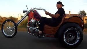 76 year old man rides 1969 honda cb750 custom chopper trike youtube