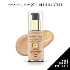 max factor facefinity all day flawless 3 in 1 spf 20 foundation 30ml