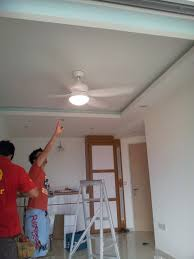 and the first ceiling fan is up crestar sky lite