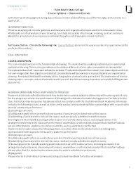 Teacher Curriculum Template Syllabus Class Curriculum Template Art Resources Lesson