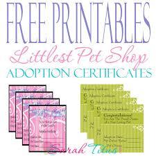 Pet Adoption Certificate Template Free Printable Unicorn Adoption Certificate Download Them