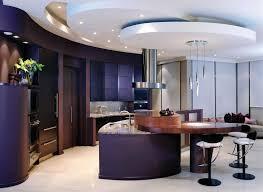 Black Kitchen Laminate Flooring Modern Kitchen Island Table Black Backsplash And Light Fixtures