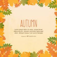 Fall Images Free Autumn Leaves Background Vector Free Download