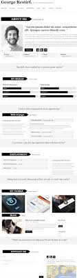 create a resume website resume wordpress theme my cv my cv one page resume wordpress theme resume template themeforest create an elegant resume website