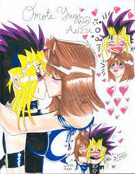 Анзу и хонда вскоре улетели в японию, чтобы не пропускать учёбу ещё больше и не гневить директрису мими. Anzu Kisses Little Yugi By Alaer On Deviantart