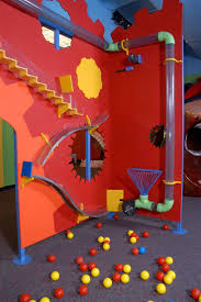 inspiration of ball and tunnel play area