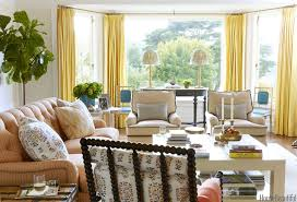 ... Home Decorating Ideas Living Room Amazing Interior Design Cream Fabric  Sofa Rectangle Wooden Coffee Table Potted ...