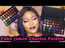 The morphe x james charles palette: Fake James Charles Palette Vs Real Amazon Changeable Pro Fantasy Palette Mayhem Beauty Youtube James Charles Makeup For Beginners Eyeshadow Looks