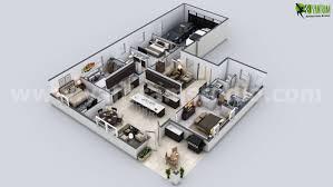 modern house floor plans. Unique Modern Modern House 3D Floor Plan Intended Plans E