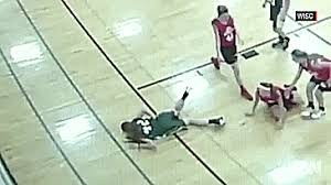 Wooden Basketball Game Teen Gets Impaled By Stray Wood Board During Basketball Game 67