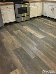 i chose seasoned wood in multi width planks i love how these look