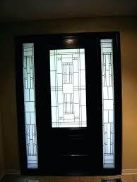 stained glass front doors door inserts exterior reclaimed victorian